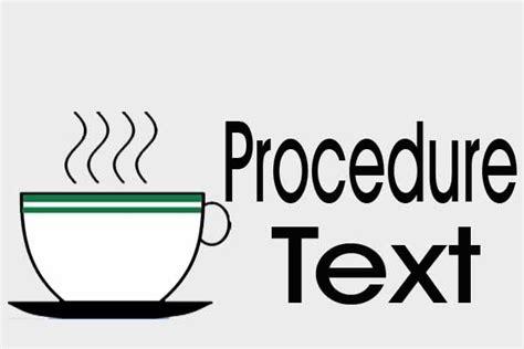 teks prosedur membuat layang2 contoh procedure text cara membuat kopi dalam bahasa