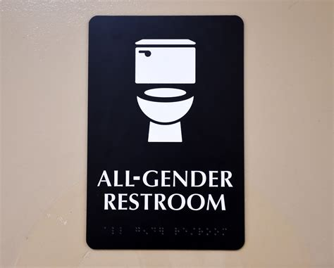 gender restrooms send  powerful message pacific