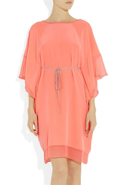 Elizabeth Kaftan Dress elizabeth and tali silk crepe kaftan dress net a