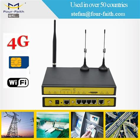 Router Cctv industrial wireless cctv modem wifi pos 4g router with