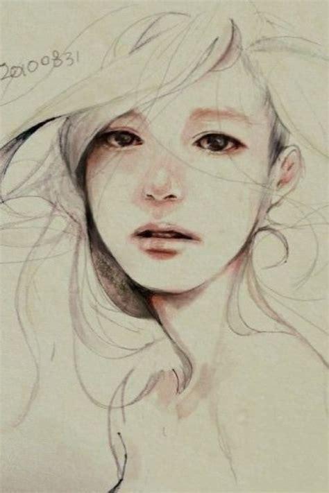 girl face drawing sad girl art sketch art pinterest girls sad