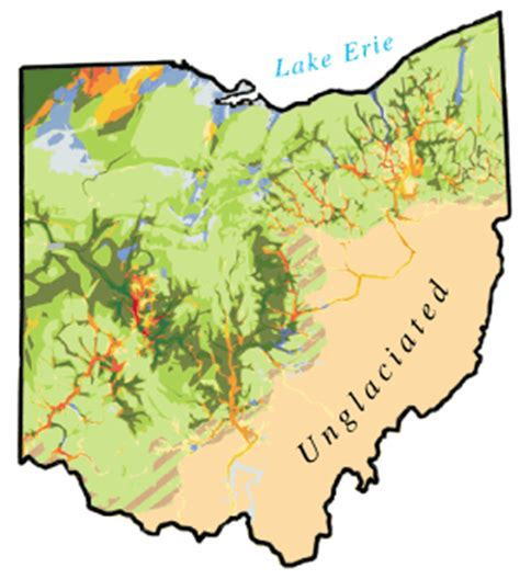 physical map of ohio fs 036 99 figure 3