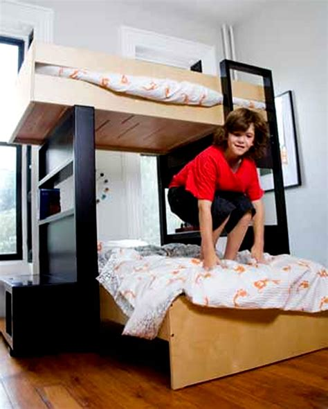 modern boy bedroom home furniture bunk bed decor decosee