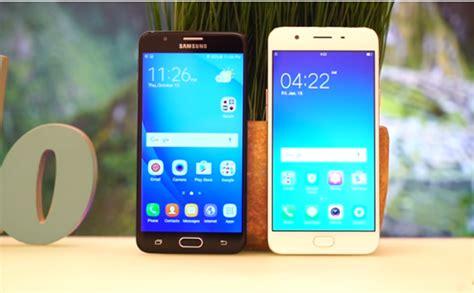 Hp Samsung F1 perbandingan bagus mana hp oppo f1 plus vs samsung j7