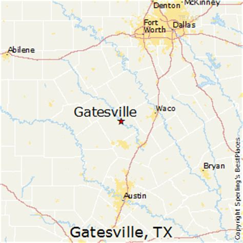 gatesville texas map best places to live in gatesville texas