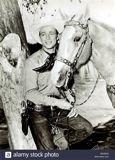 roy rogers portrait with his trigger rrgr 001p stock photo royalty free image 29190241