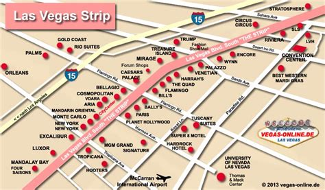 hotel layout on the las vegas strip 2015 las vegas strip hotel map misc pinterest las