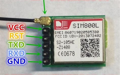 Modul Serial Modem Sim800l Gsm Gprs Sms cheap gsm module sim800 not connecting to the network
