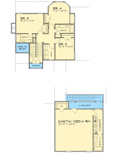 courtyard house plan with casita 16313md architectural courtyard living with incredible casita 36805jg