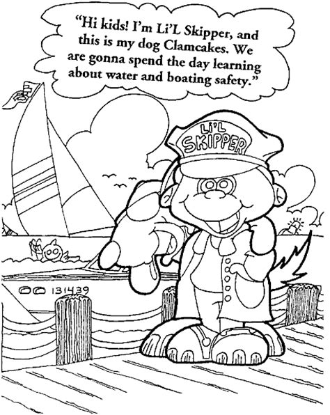 coloring pages water safety water safety coloring pages for kids coloringpagesabc com