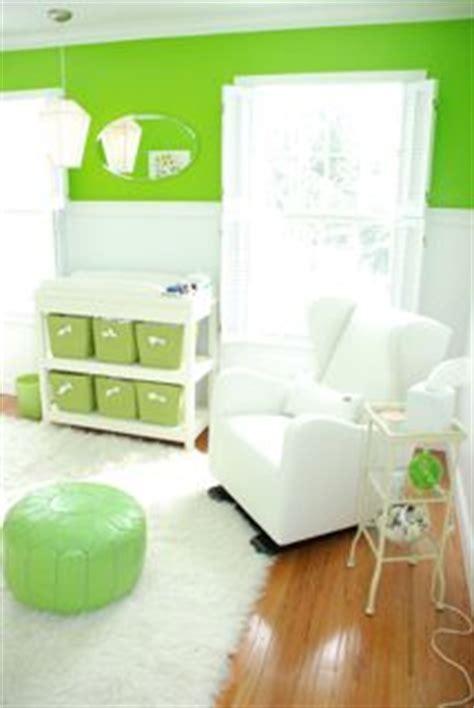 Lime Green Nursery Decor Modern Lime Green And White Nursery