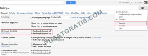 membuat shortcut gmail shortcut shortcut yang harus anda ketahui saat menggunakan