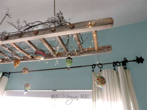 how to hang a vintage ladder as home decor what meegan makes