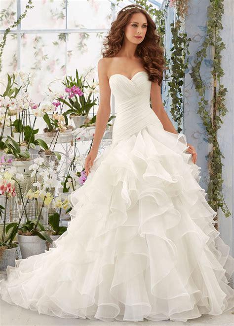imagenes de vestidos de novia para invierno vestido de novia invierno organza natural sala volantes