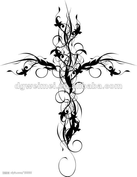 flower cross tattoo designs 25 best ideas about feminine cross tattoos on