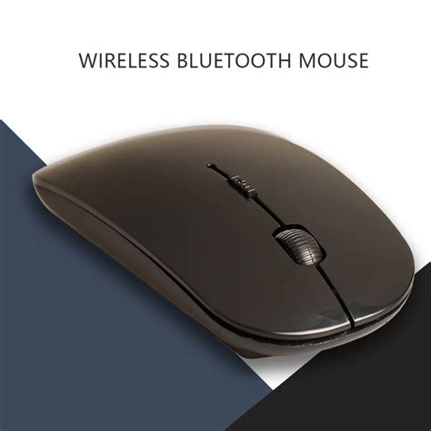 Thin Wireless Mouse Apple Slim With Usb Receiver 2 4ghz Macbook Laptop 1 noyokere ultra thin 2 4ghz wireless optical mouse computer