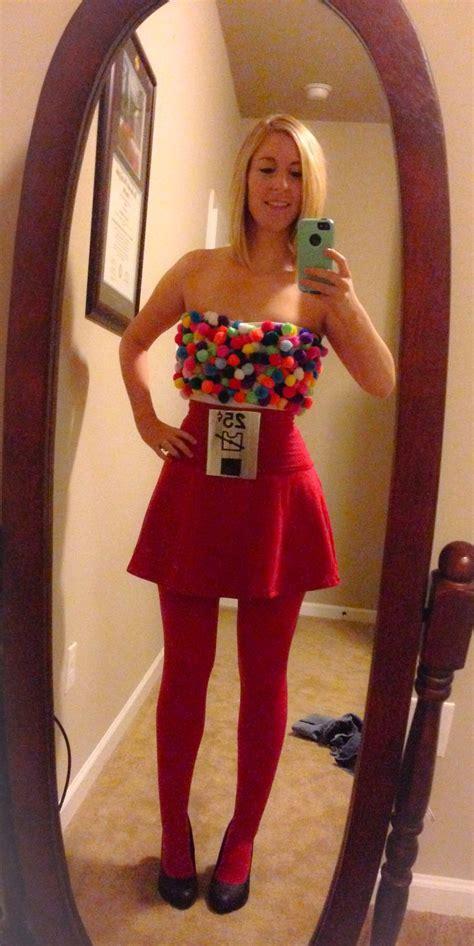 diy gumball machine costume halloweenie