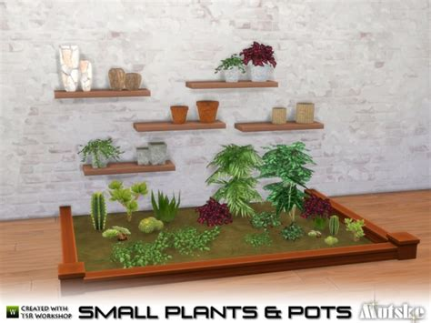 mod the sims 3 small potted plants the sims resource small plant and pots by mutske sims 4