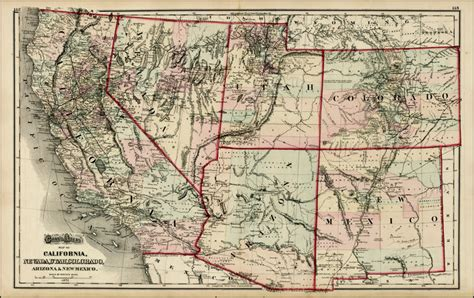 road map of utah and nevada gray s atlas map of california nevada utah colorado