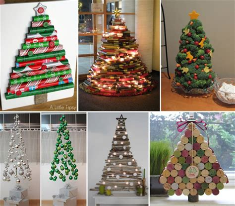 christmas diy 25 creative diy christmas tree ideas smiuchin