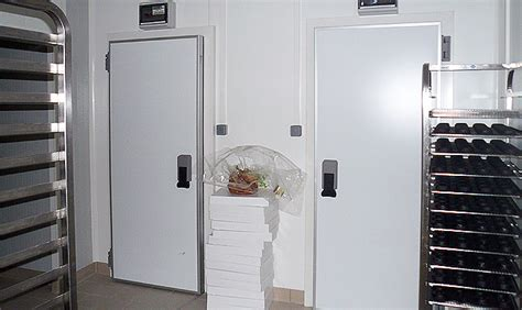 chambre froide boulangerie fermeture porte chambre froide porte empilement