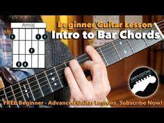 tutorial untuk beginner guitar guitar lessons how to play barre chords printable
