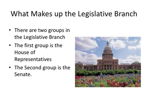 What Are The Two Houses Of The Legislative Branch by Legislative Branch
