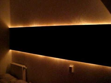 diy indirect lighting diy hidden indirect wall lighting youtube