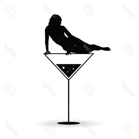 martini woman in martini glass silhouette www pixshark com