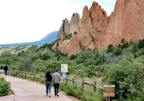 Garden Of The Gods Wolf Walk Getaways In Colorado Excellent Vacations
