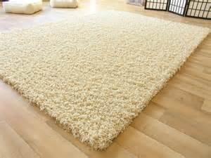 shaggy teppich selbst reinigen shaggy langflor hochflor teppich beige neu ebay