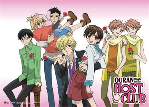 Kaos T Shirt Anime Series Type One 05 Psr5 buy wall scroll ouran high school host club wall scroll