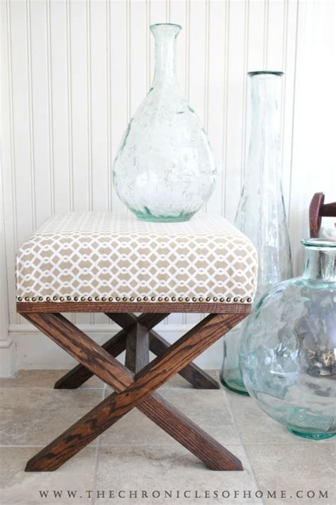 diy ottoman bench diy ottoman projects the budget decorator