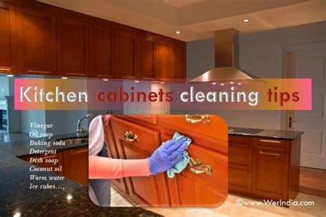 kitchen cabinet cleaning tips tips to clean kitchen cabinets healthylife werindia