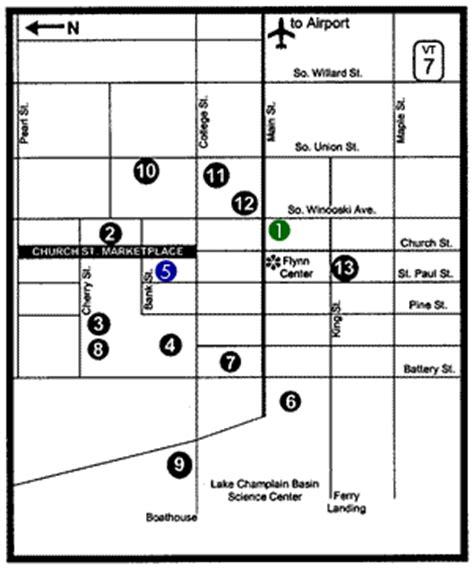 Parking Garage Burlington Vt by Area Directions Parking Flynn Center For The