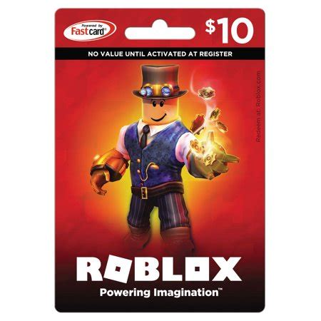roblox $10 game card walmart.com