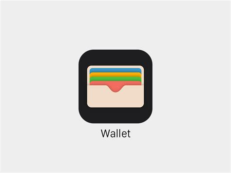 Home Design The App by Wallet Icon Ios9 Sketch Freebie Download Free Resource