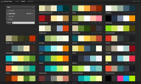 color themes graphic design branding elements resources eyeflow internet marketing