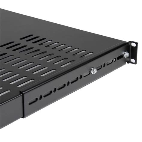 Adjustable Rack Shelf by 1u Adjustable Depth Vented Rack Mount Shelf Server Rack
