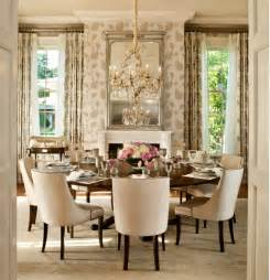 Double Pedestal Dining Table Set - the most elegant round dining table decor ideas