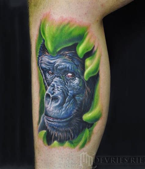 3d tattoo gorilla 95 awesome tattoos ever free premium templates