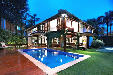 Home Design Concepts by Modern Tropical House Inspiring Architectural Concept Of