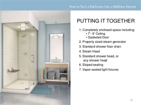 turn your shower into a steam room steam showers 101 how to turn a bathroom into a wellness retreat