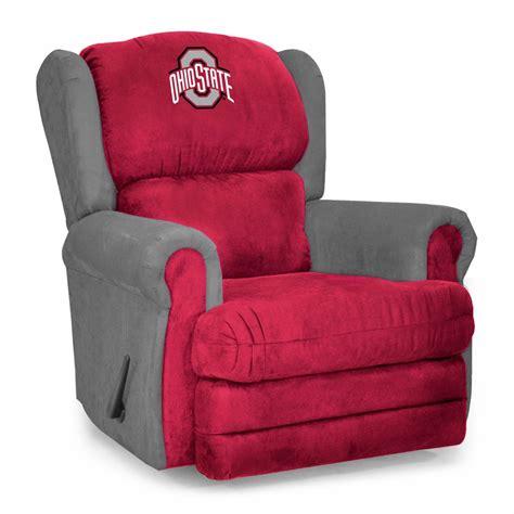 ohio state recliner ohio state buckeyes coach recliner