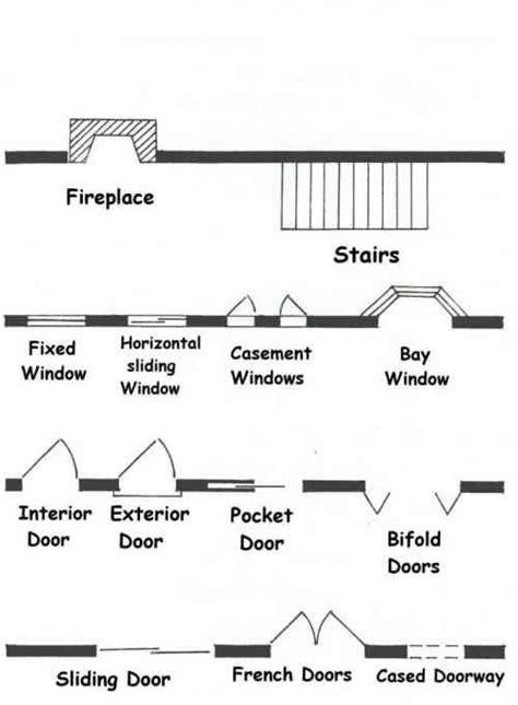 floor plan symbols symbols   house design house