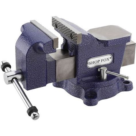 4 bench vise shop fox bench vise