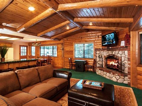 themed living rooms rustic style living room design with l shape brown leather