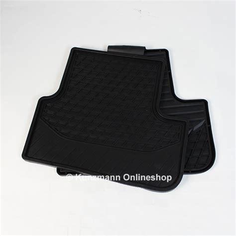 car rubber floor mats mercedes class w117 original