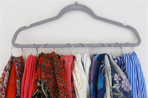 organize scarves in closet closet organizing ideas how to organize scarves
