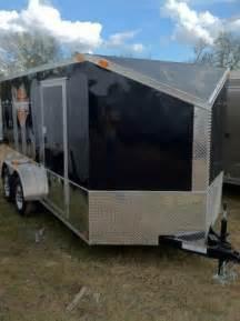 diamond cargo 7x14 tvrh harley trailer black slant v motorcycle southern trailer depot cargo